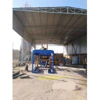 Fully Automatic Cement Block Machine Holly Brick Production Line 8 Pcs/Mould Manufactures
