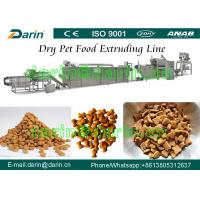 China Cat / Bird / Fish Pet Feed Production Line on sale
