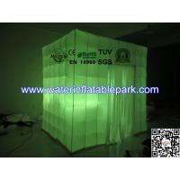 Shinning Shooting Inflatable Photo Booth Tent  With LED Light Manufactures
