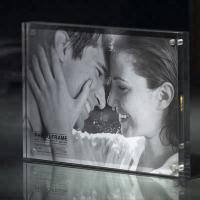 Commercial Custom Clear 2 Sided Acrylic 2x3 Picture Frames 3x4 Picture Frame Manufactures