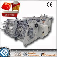 180 Boxes Automatic Fast Food Box Machine Manufactures
