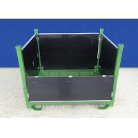 Zinc Plated Metal Mesh Containers Anti Dust Rigid Mesh Pallet Cages Manufactures