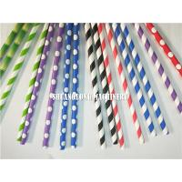 Biodegradable drinking paper straw making machine Manufactures