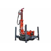 Crawler Mounted 200m 4000Nm Water Well Drilling Rig Manufactures