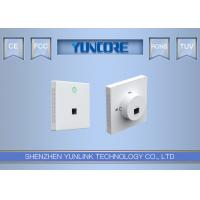 Buy cheap AC750 Dual-Band Wall Plate Wireless Access Point with Euro Size For Office, from wholesalers