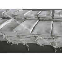 Non Woven Nomex / Polyester Filter Bag With Excellent Mechanical Behavior