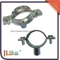 Carbon Steel Material Galvanized Pipe Clamp Fittings Standoff Pipe Clamps Manufactures