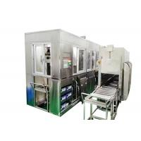 Three Tanks Brass Ultrasonic Cleaner With Oil Skimmer Spray Piping System 3600W Manufactures