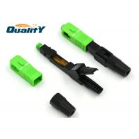 China Fast Single Mode Fiber Connector For Active Device Termination on sale