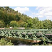 Military Engineering Steel Suspension Bridge Galvanized Bailey Truss Bridge