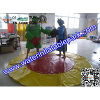 Kids And Adults Inflatable Sumo Wrestling Suits / Foam Padded Sumo Suits Manufactures