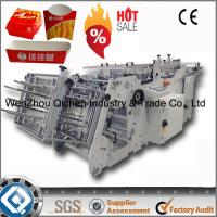180 Boxes Automastic Fast Food Box Making Machine Manufactures