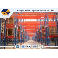 Bureau Veritas Certification Pallet Warehouse Racking With Q235B Steel Code Manufactures