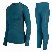 Fashionable Thermal Underwear, Seamless, Made of Polyamide/Polyester, Available in Various Colors Manufactures