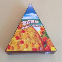 China Cardboard Food Box Pizza Slice Box Food Packaging Box on sale