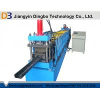 Compressive Strength , Flatness Z Purlin Roll Forming Machinery with 15 Rows Rollers Manufactures