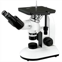 Mechanical Stage Trinocular Inverted Metallurgical Microscope Infinity Optical System Manufactures