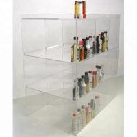 Eco - Friendly Acrylic Countertop Display Case Custom Acrylic Display Cabinet Manufactures