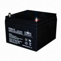 Buy cheap UPS Battery with 12V Voltage, 28mAh Capacity, Measures 175 x 166 x 125mm from wholesalers