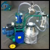 China portable single cow milking machine on sale