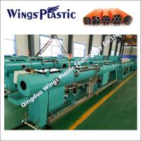 HDPE Silicon Core Pipe Extrusion Line / HDPE Telecom Ducts Tube Making Machine Manufactures
