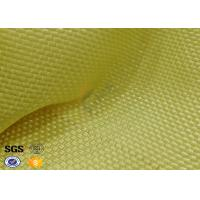 Yellowish Motorcycle Clothing Kevlar Aramid Fabric 0.3 Thickness Manufactures