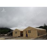 Rustless Waterproof Fabric Sunshade Outdoor Event Tent , Frame Big Event Tents Manufactures