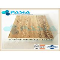 China High Strength Honeycomb Stone Panels , Commercial Ceiling Panels Anticorrosive on sale