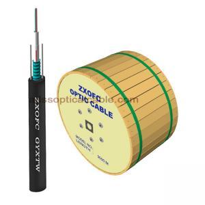 Outdoor uni-tube Duct Armored Singlemode Fiber Optic Cable 12C&16C&24C Manufactures