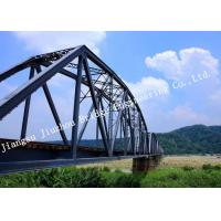 Modern Structural Galvanized Steel Bridge Single Span Construction Easy Installation Manufactures