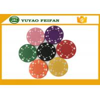 Professional Heart Casino ABS Poker Chips For Playing Game Set Manufactures