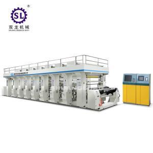 Plastic Film 8 color Rotogravure Printing Machine Computer Control Manufactures