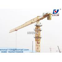 Buy cheap QTZ63-PT5210 Tower Kren 5tons 52m Jib Long Construction Building Crane from wholesalers