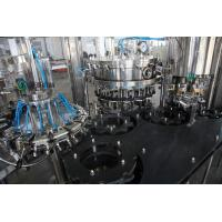 SGS Touch Screen Carbonated Beverages Filler Machines For Sparkling Water Manufactures