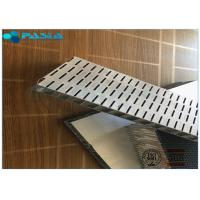 Sound Proof Aluminum Honeycomb Sandwich Panels Tooled Surface Treatment Manufactures