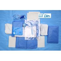 Breathable SMMS Disposable Surgical Packs , EO Sterile C Section Drape Manufactures