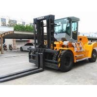 20 Ton Forklift Equipment Rental , Heavy Duty Forklift For Stations Chinese Engine Manufactures