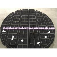 ROUND/SQUARE/CUSTOMIZE Titanium Wire Mesh Demister Pad Mist Eliminator For Anti - Corrosion Manufactures