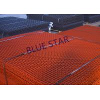 Crimped Carbon Steel Wire Mesh High Tensile 65Mn Square Hole Rust Prevention Manufactures