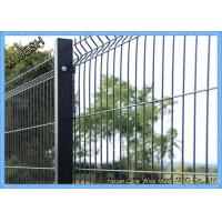 Perimeter Coated Welded Wire Fence Steel-P0001