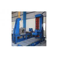 China Steel Structure H Beam / Box Beam End Face Milling Machine , Taiwan E-LONG MU9S Milling Head on sale