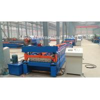 Iron Rolling Mill Roofing Sheet Roll Forming Machine 7.5kw Hydraulic Control