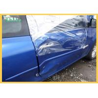 PE Self Adhering Weather Barrier Collision Wrap Film For Damaged Vehicles Manufactures
