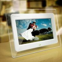 Acrylic style 7inch digital photo frame with full function photo/music/video Manufactures