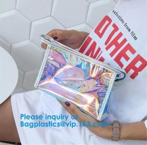 Buy cheap Hologram Zipper Pvc Cosmetic Bag, Hologram Zipper Pu Cosmetic Bag,co-Friendly, from wholesalers