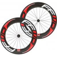 88mm Full Carbon Bike Wheels , 100% Carbon Fiber Front Rear Wheel 23mm Width 700C Manufactures