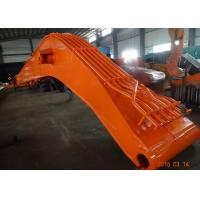 Cheap Heavy Duty Komatsu Excavator Long Boom , Orange High Reach Arm for sale