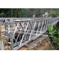 Portable Steel Bridge Parts Metal Pre Engineered System Support CE/ASTM Standard Manufactures