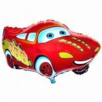 Buy cheap Car Foil Balloons, Self-sealed after Being Filled, Made of Mylar from wholesalers
