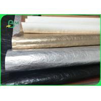 Imported Environmental Material Colorful Washable Kraft Paper For Making Bags Manufactures